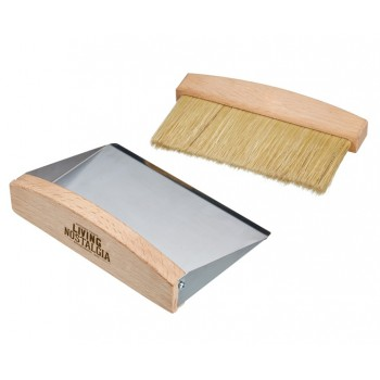 Living Nostalgia Tabletop Dustpan and Brush